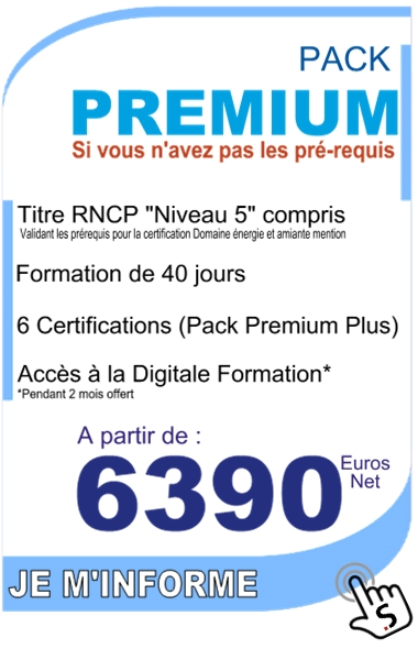 formation diagnostic immobilier - pack premium