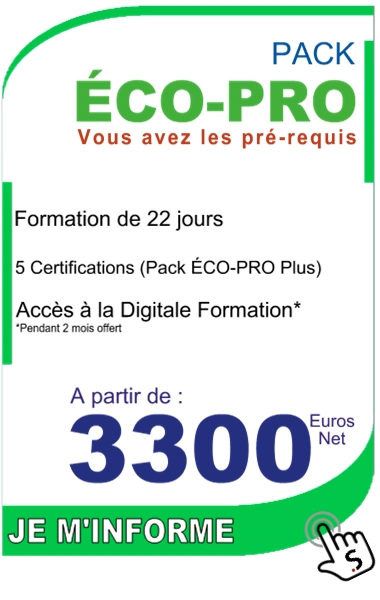 formation diagnostiqueur immobilier - pack ecopro